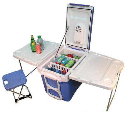 Blue Party Cart