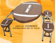football picnic table