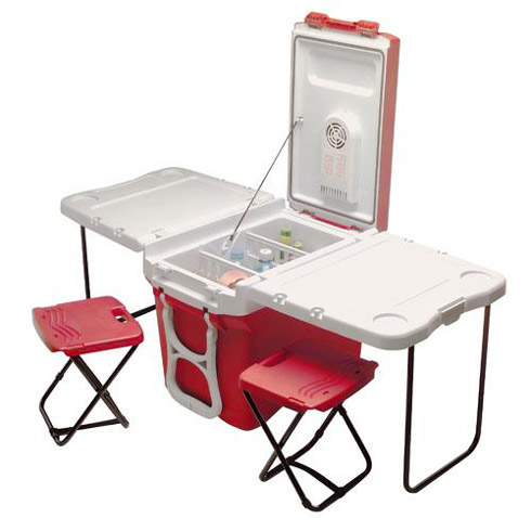party cart tailgate cooler